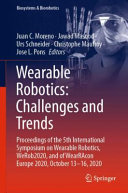 Wearable Robotics  Challenges and Trends Book