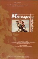 Métissages littéraires ebook