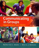 Communicating in Groups  Applications and Skills Book PDF