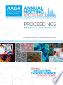 AACR 2018 Proceedings  Abstracts 1 3027
