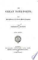 The Great Tone poets