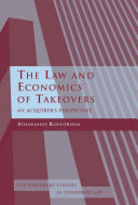 The Law and Economics of Takeovers Pdf/ePub eBook