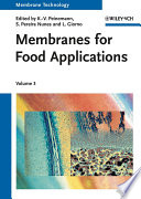 Membranes For Food Applications Book PDF