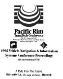 Vehicle Navigation   Information Systems Conference Proceedings Book