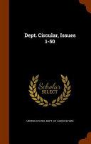 Dept Circular Issues 1 50