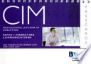 Cim - 7 Marketing Communications
