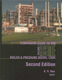 Companion Guide to the ASME Boiler   Pressure Vessel Code Book