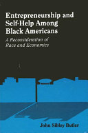 Entrepreneurship and Self-Help Among Black Americans Book