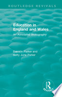 Education In England And Wales