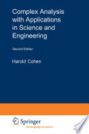 Complex Analysis with Applications in Science and Engineering Book