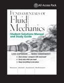 Print Component for Fundamentals of Fluid Mechanics, 7E All Access Pack