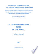 Alternative Medicine Cam In The World