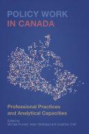 Policy Work in Canada [Pdf/ePub] eBook