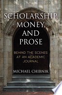 Scholarship  Money  and Prose