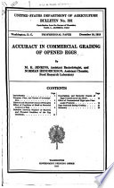Bulletin of the U.S. Department of Agriculture