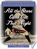 All the Stars Came Out That Night Book