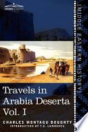 Travels in Arabia Deserta Book