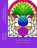 Stained Glass Coloring Book  Volume 2