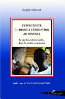 Pdf L'effectivité du droit à l'éducation au Sénégal Telecharger
