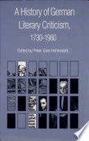 A History of German Literary Criticism