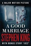 A Good Marriage Pdf/ePub eBook