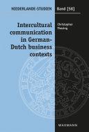 Intercultural communication in German-Dutch business contexts