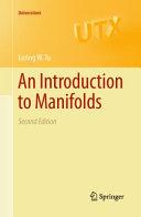 An Introduction to Manifolds [Pdf/ePub] eBook