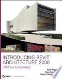 Introducing Revit Architecture 2008 Book PDF