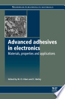 Advanced Adhesives in Electronics Book