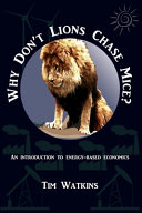 Why Don t Lions Chase Mice  Book PDF