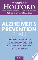 The Alzheimer s Prevention Plan Book
