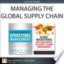 Managing the Global Supply Chain  Collection  Book