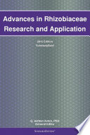Advances in Rhizobiaceae Research and Application: 2012 Edition