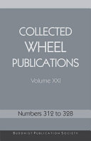 Collected Wheel Publications Volume XXI