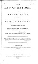 Pdf The Law of Nations