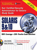Sun Certified Security Administrator for Solaris 9   10 Study Guide Book