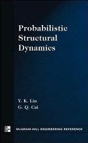 Probabilistic Structural Dynamics Book
