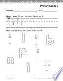 Kindergarten Foundational Phonics Skills: Primary Sound i