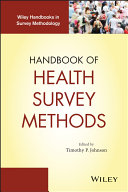 Handbook of Health Survey Methods - Seite 136