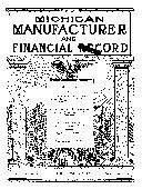 Michigan Manufacturer Financial Record