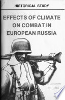 Effects of Climate on Combat in European Russia Book PDF