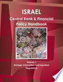 Israel Central Bank   Financial Policy Handbook Volume 1 Strategic Information and Important Regulations Book