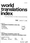 World Translations Index