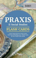 Praxis Ii Social Studies 5081 Rapid Review Flash Cards Book PDF