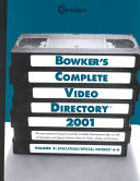 Bowker s Complete Video Directory 2001 Book PDF