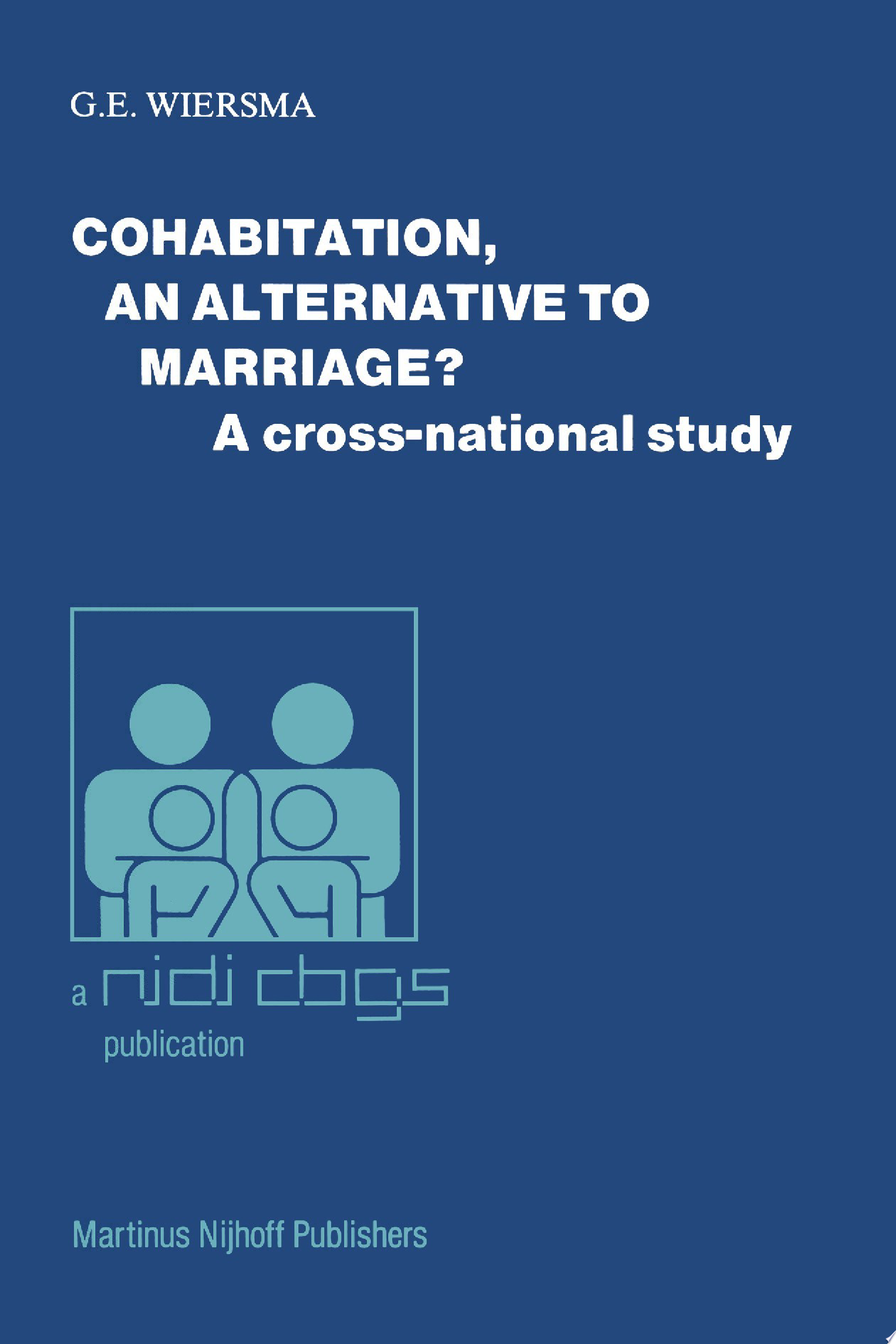 Cohabitation  an alternative to marriage