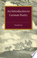 An Introduction to German Poetry