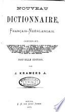 Nouveau Dictionnaire Fran Ais Ne Rlandais