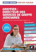 Pdf Réussite Concours - Greffier/Directeur des services de greffe judiciaires - Préparation complète Telecharger
