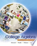 College Algebra  Concepts and Contexts